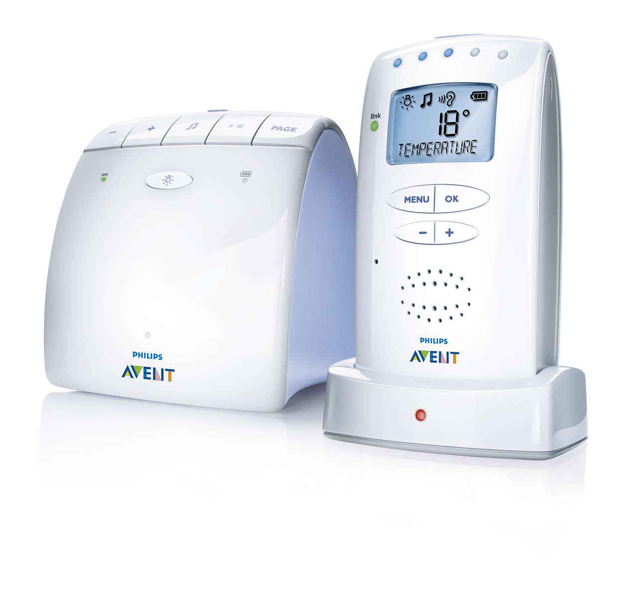 Coute b b dect scd520 00 avent for Temperature ideale chambre enfant