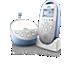 Avent Dect Audio babymonitor med diskré nattmodus