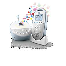 SCD580/00 Philips Avent Dect babyalarm Audio med stjernehimmel