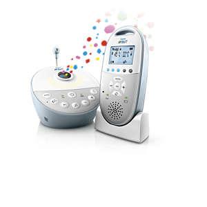 Avent Dect babyalarm Audio med stjernehimmel