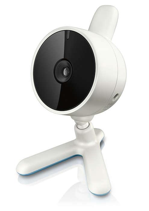 Ekstra kamera for en familie som vokser