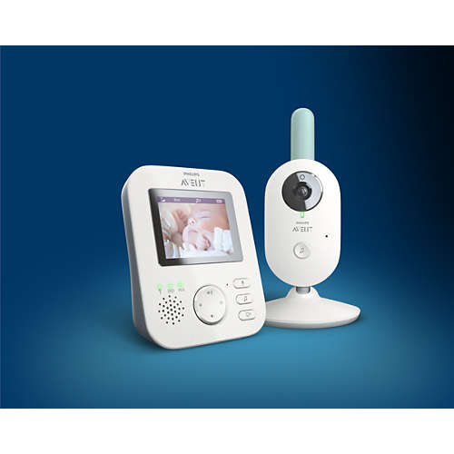 Avent Digital babyalarm med video