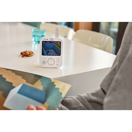 Avent Vigilabebés con vídeo digital