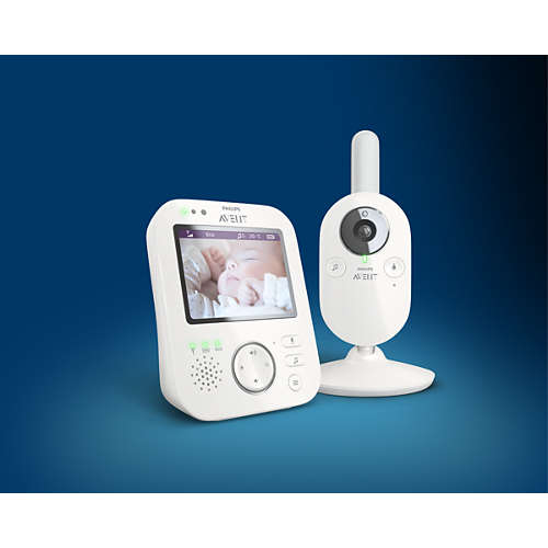 Avent Babymonitor med digital video