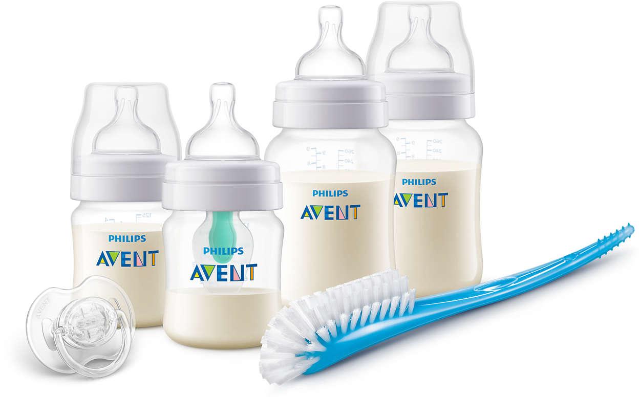 Conceput pentru a reduce colicile, gazele şi refluxul*