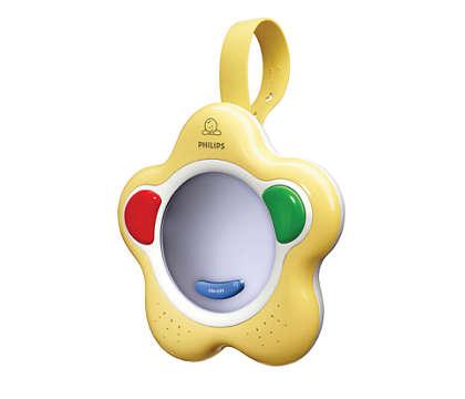 Ösztönzi a babát az első hangok és szavak kimondására