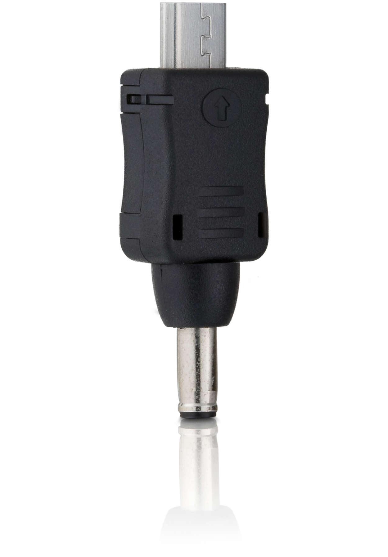 Connector tip for phones with micro USB connection