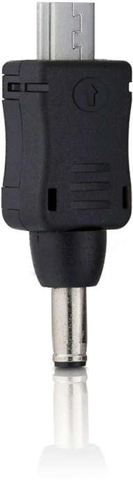 Connecteur pour téléphones avec connexion micro USB