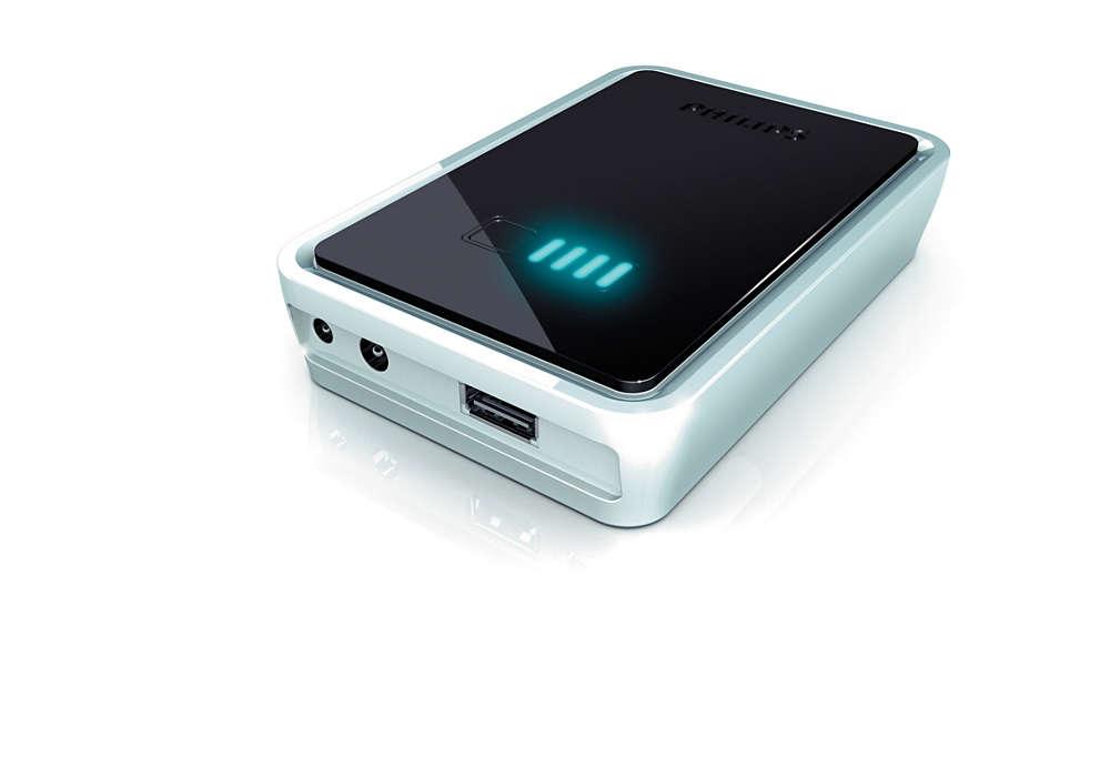 Une réserve d'énergie portable dans votre poche