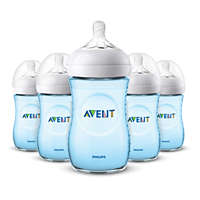 5 Bottles 9oz/260ml Natural baby bottle