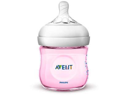 Facile da abbinare all'allattamento al seno