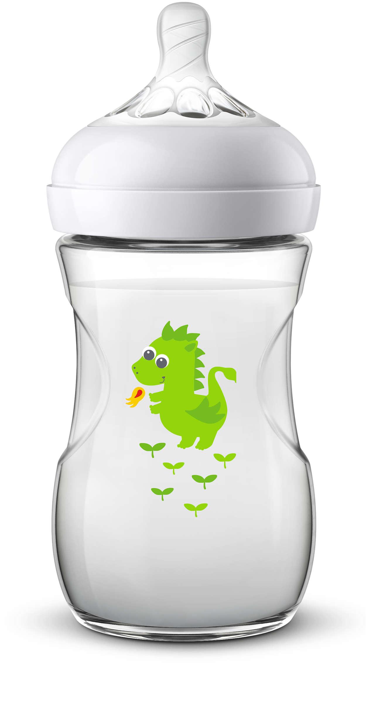 Fácil de combinar con la lactancia materna