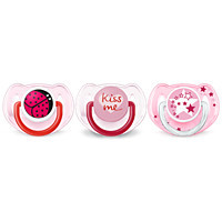 Avent Classic Value Pack 6-18m, Pink, 3 pack
