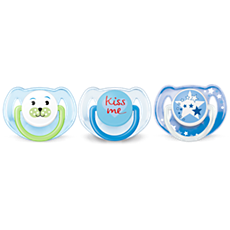SCF134/31 Philips Avent Classic Pacifier Value Pack 6-18m, 3 pack