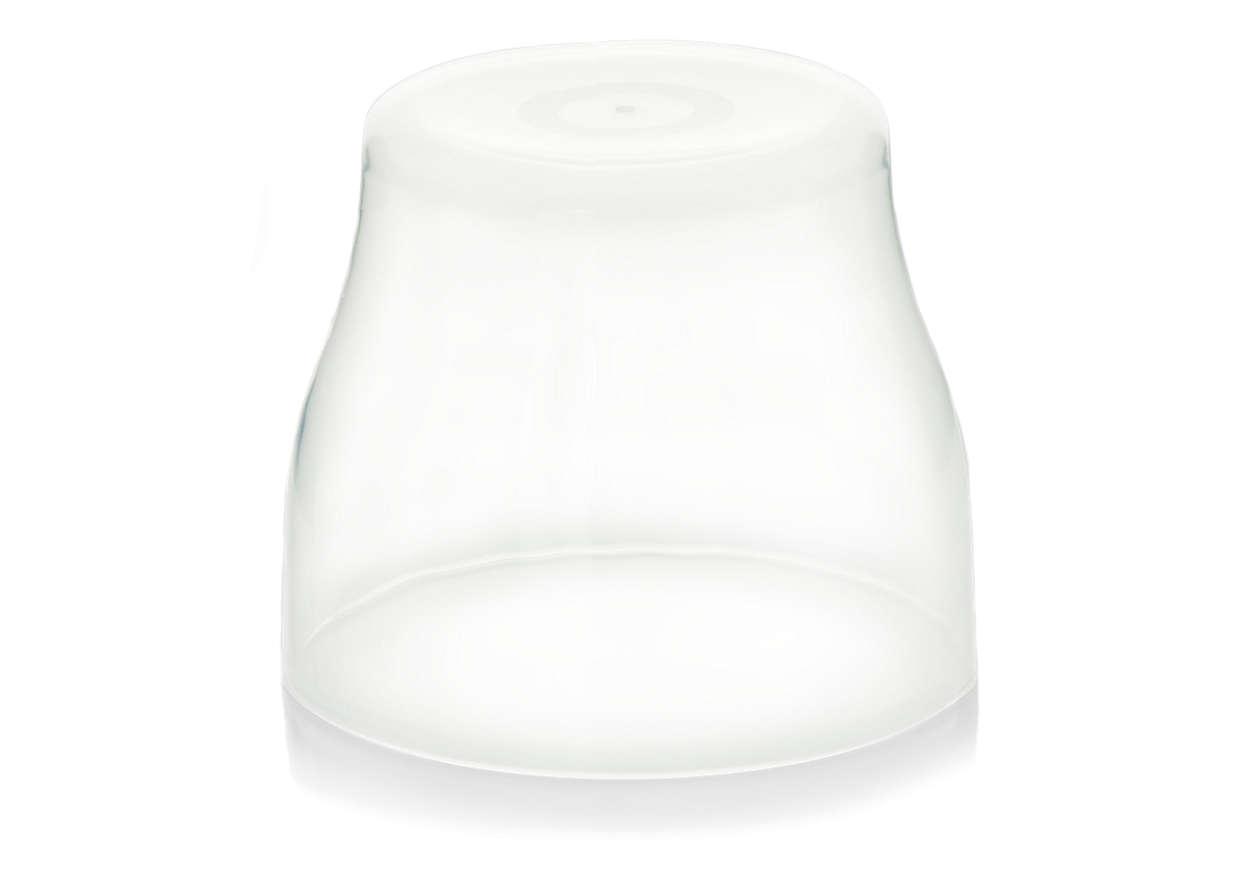 Helps keeping teats clean