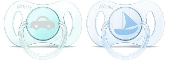 Chupete Mini ortodóntico sin BPA de 0 a 2meses