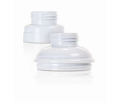 Easily adapts to breast pumps