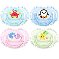 For essential comfort 0-6m Classic pacifier