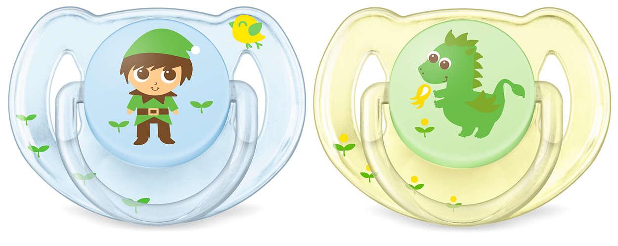 Conçu pour le besoin de réconfort quotidien de votre bébé