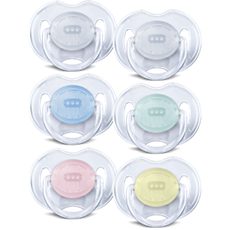 SCF170/18 - Philips Avent  Classic Translucent Pacifier 0-6m, 2 pack