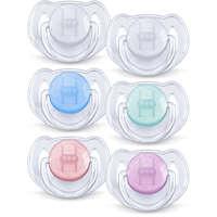 6-18 m Orthodontisch en BPA-vrij Classic-fopspenen