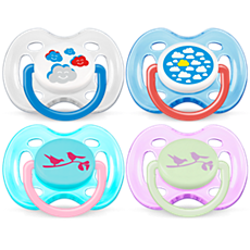 SCF172/18 Philips Avent Freeflow soothers