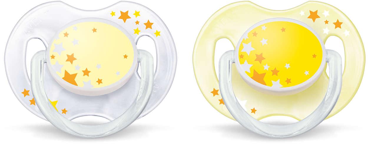 Brillan en la oscuridad. Sin BPA.