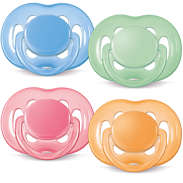 Freeflow pacifiers