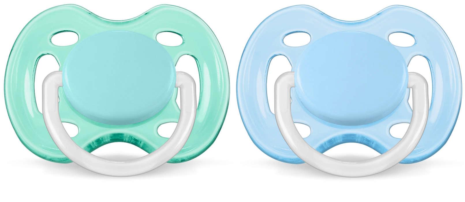 Ekstra luftgjennomstrømming for babyhud