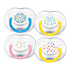 Philips Avent Freeflow Pacifier 6-18m, Various Designs, 2 pack SCF180/24 Soothe with the comfort of air 6-18m Orthodontic & BPA-Free 2-pack