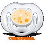 Avent Orange Babies Freeflow-fopspeen