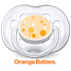 Avent Orange Babies Freeflow-fopspeen
