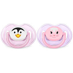 Avent Classic Pacifier 0-6m, 2 pack