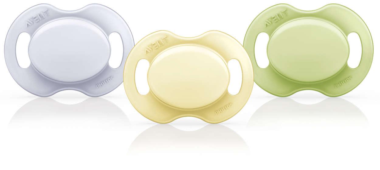 Utformad för att underlätta en hälsosam tandutveckling