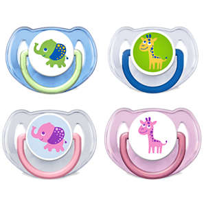 Philips Fashion pacifiers SCF195/22 6-18m Orthodontic & BPA-Free 2-pack