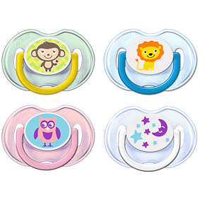 Philips Avent Classic Pacifiers SCF196 0-6m Orthodontic & BPA-Free 2-pack