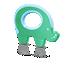Avent Gryzaczek w kształcie słonia