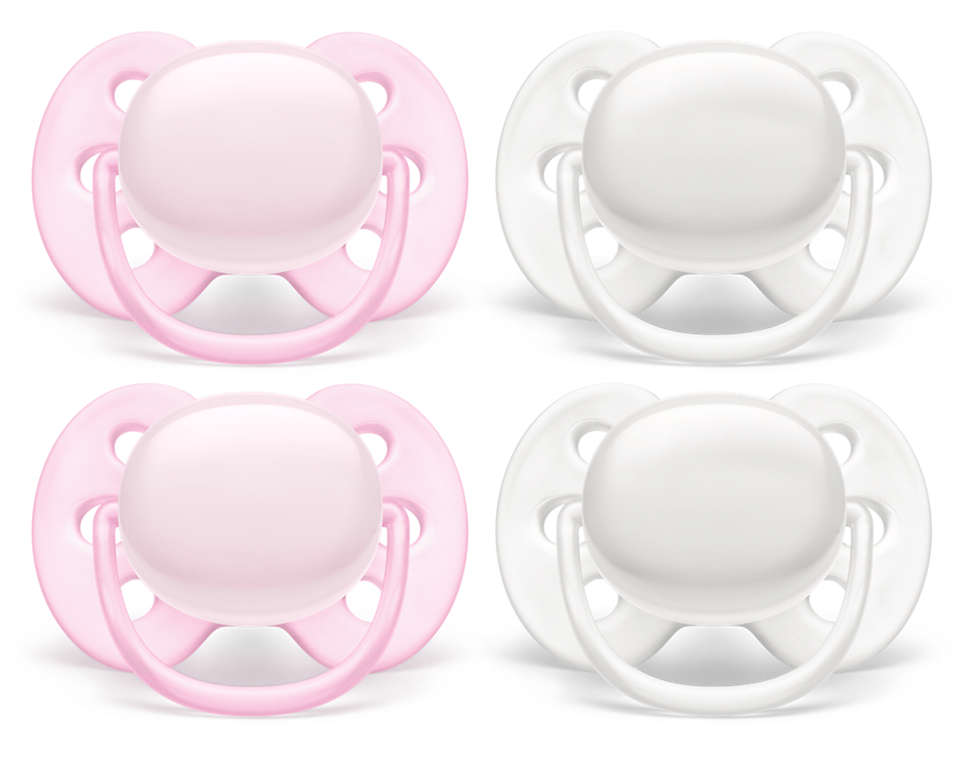 The softest soother for your baby's sensitive skin