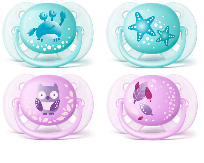 The softest soother for your baby's delicate skin*
