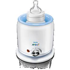 SCF255/57 Philips Avent Elektrisk flaske- og babymatvarmer