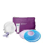 SCF257/00 Philips Avent Conjunto essencial para cuidados de amamentação