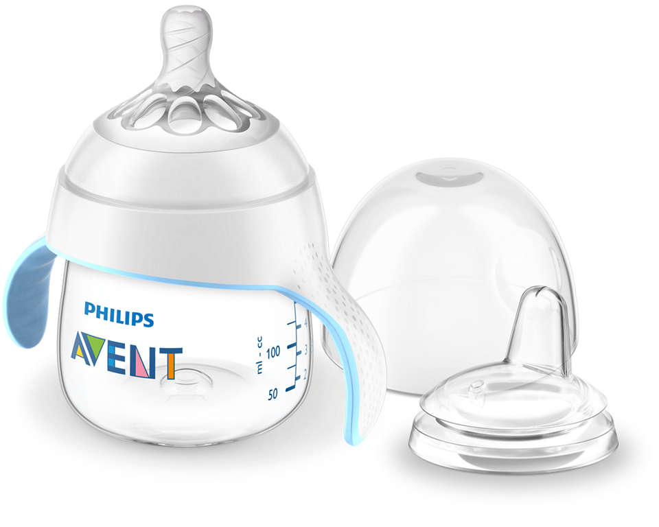 Ease your baby's transition to a drinking cup