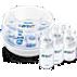 Avent Set con esterilizador para microondas