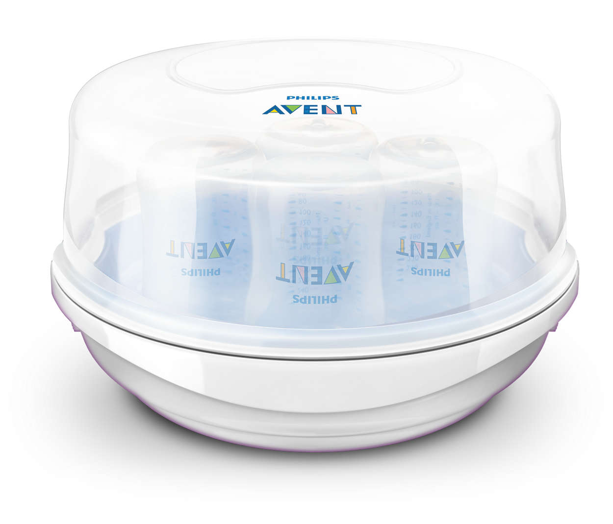 Microwave steam steriliser scf271/51 | avent.