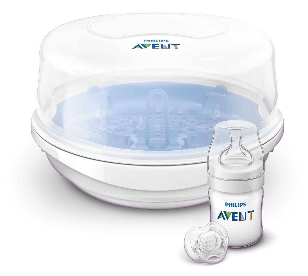 Philips avent microwave sterilizer starter set scf271-02 user.