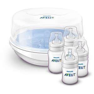Avent Parní sterilizátor do mikrovlnné trouby