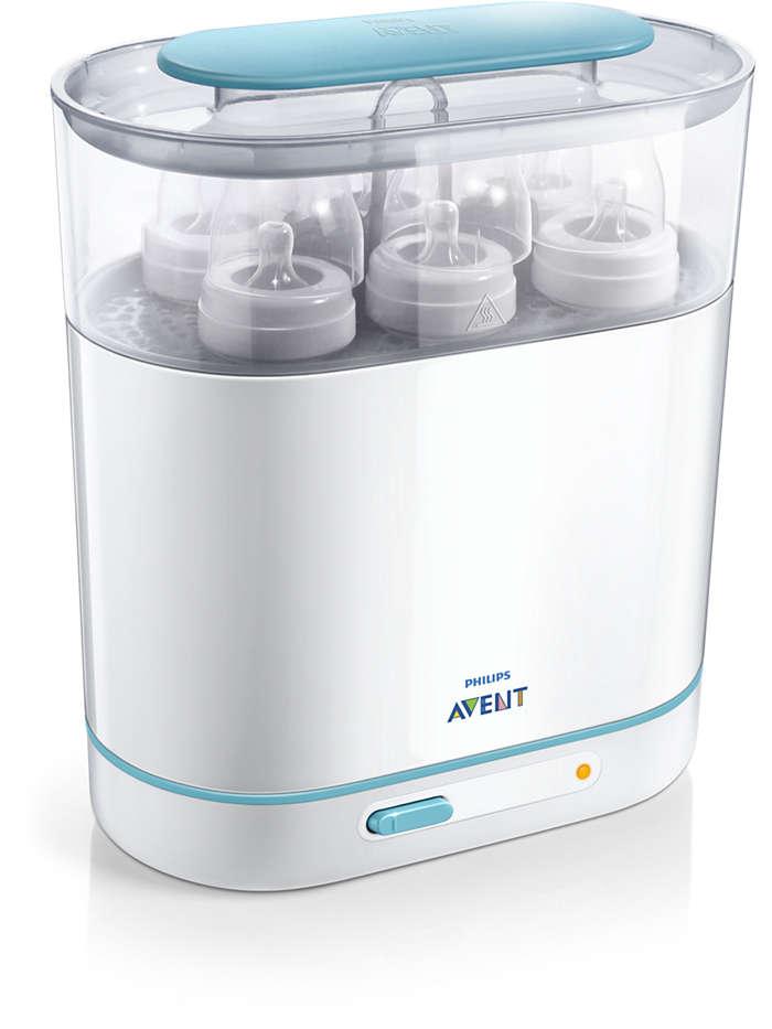 Priročno in učinkovito steriliziranje