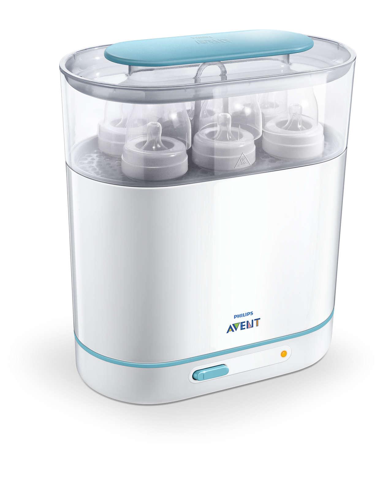 Philips avent 3-in-1 electric steam sterilizer.