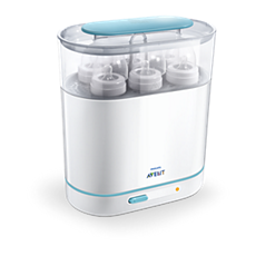 SCF285/01 Philips Avent 3-in-1 electric steam sterilizer