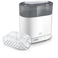 SCF286/02 - Philips Avent  Esterilizador a vapor eléctrico 4 en 1